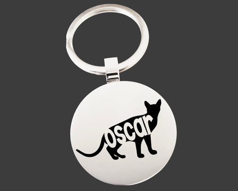 Abyssinian Cat Keychain | Cat Keychain | Cat Lover Gifts