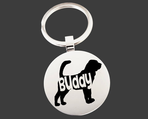 Bloodhound Dog Keychain | Dog Key Chain | Dog Lover Gifts