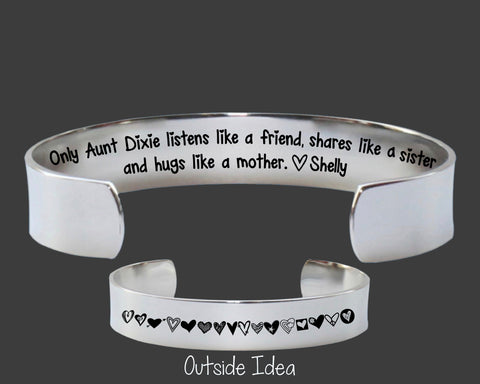 Aunt Gift | Listens Like A Friend Shares Like A Sister
