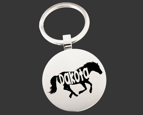 Horse Keychain | Horse Key Chain | Horse Lover Gifts
