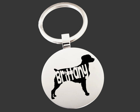 Brittany Dog Keychain | Dog Key Chain | Dog Lover Gifts