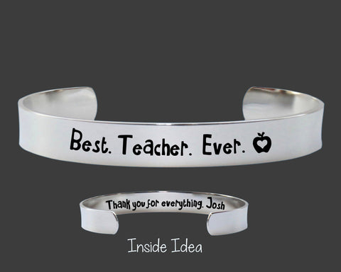 Teacher Gift | Best. Teacher. Ever
