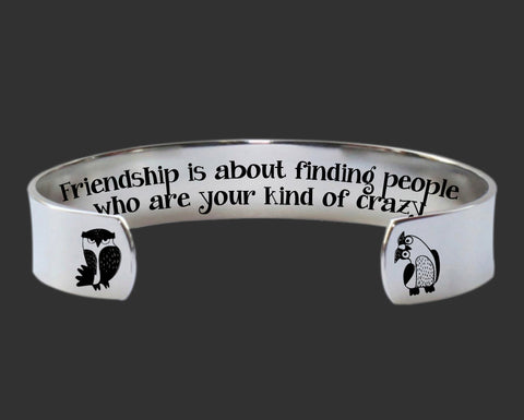 Friendship Is About Bracelet | Gift for Friend