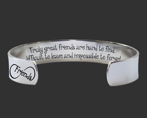 Truly Great Friends Bracelet | Friend Gift