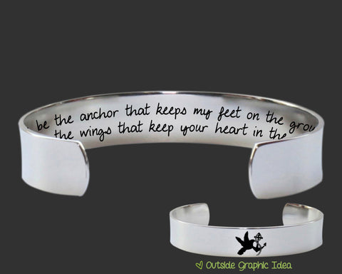 You Be the Anchor Bracelet | Encouragement Gift