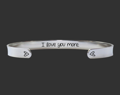 I Love You More Bracelet