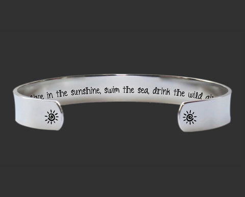 Live In the Sunshine Bracelet