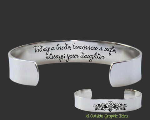 Always Your Daughter Bracelet | Mother of the Bride