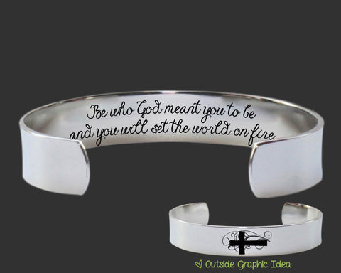 Be who God meant you to be Bracelet | Graduation Gift