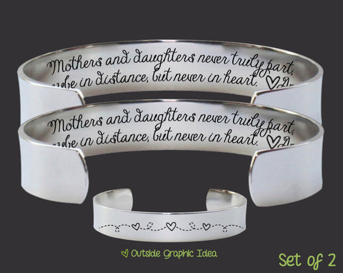 Mothers and Daughters Bracelet Set