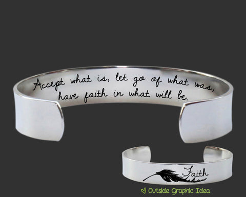 Have Faith In What Will Be Bracelet | Inspirational Quotes