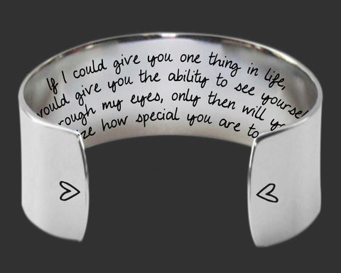 If I Could Give You Only One Thing Bracelet