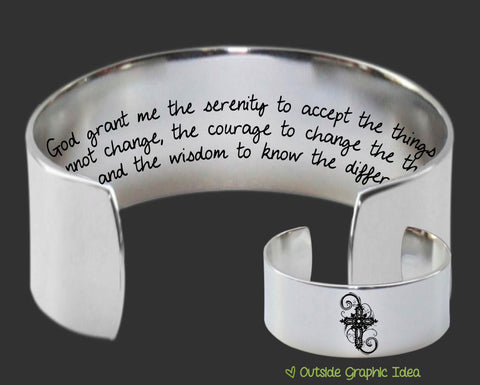 Serenity Prayer Bracelet | Christian Gift