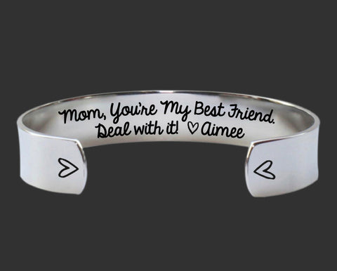 Mom, You're My Best Friend Bracelet | Gift for Mom