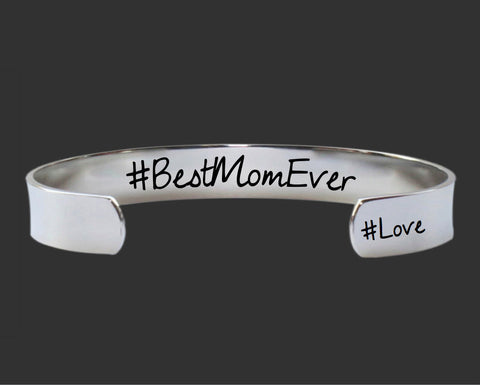 #BestMomEver Bracelet | Gift for Mom