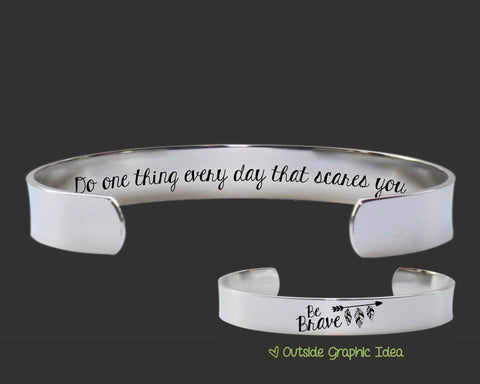 Do One Thing Bracelet | Inspirational Quotes