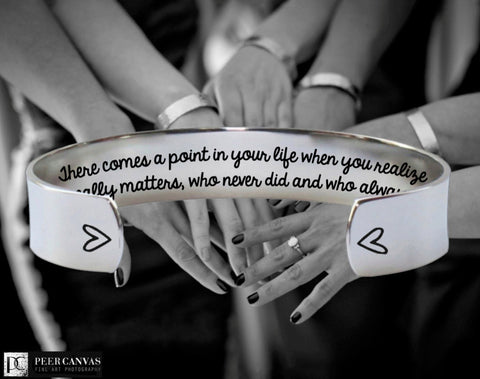 Who Matters Bracelet | Bridesmaid Invitations