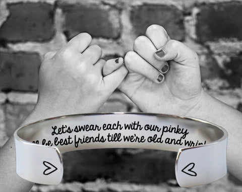 Pinky Swear Bracelet | Best Friend Gift