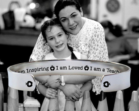 I Am a Teacher Bracelet | Gift for Teacher