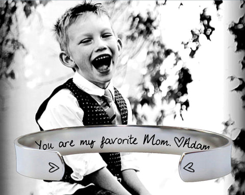 You Are My Favorite Bracelet | Mothers Day