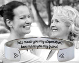 Fate Made You My Stepmother Bracelet | Stepmom Gift