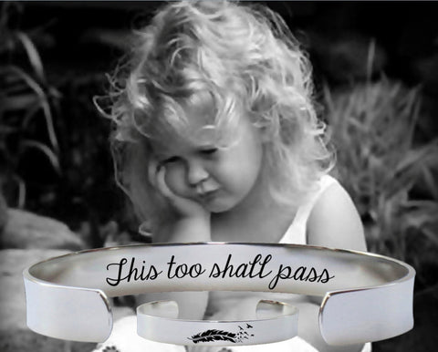 This Too Shall Pass Bracelet | Encouragement Gifts