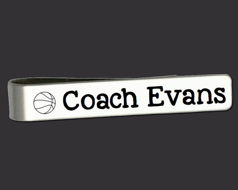 Best Coach Ever Tie Bar