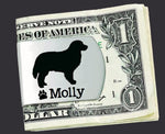 Bernese Mountain Dog Personalized Money Clip
