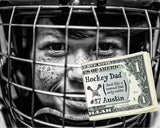 Hockey Dad Personalized Money Clip