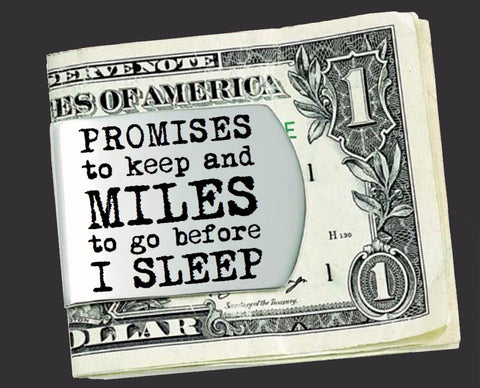 Promises To Keep Money Clip