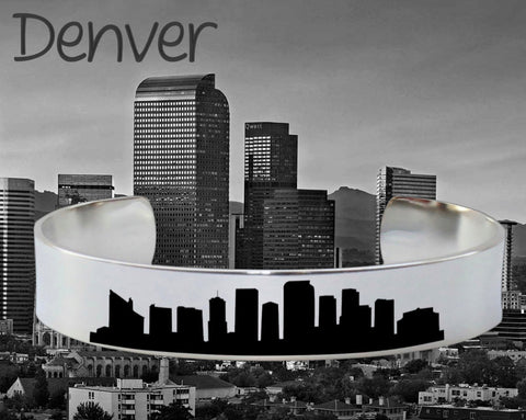 Denver Skyline Cityscape Jewelry