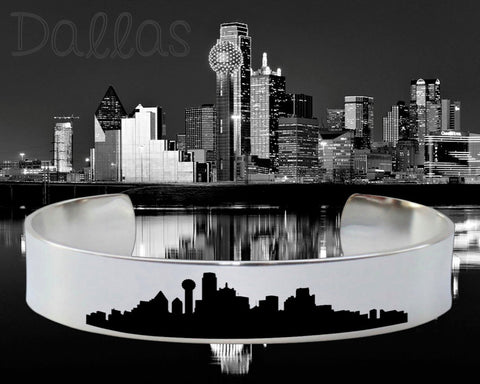 Dallas Skyline Cityscape Bracelet