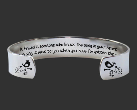 A Friend Is Someone Bracelet | Friend Gift