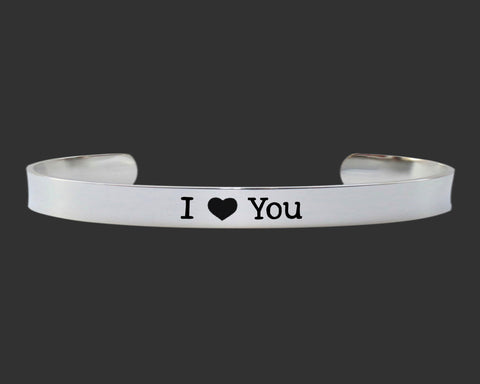 I ♥ You Bracelet | Daughter Gift