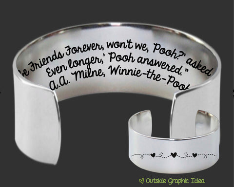 We'll Be Friends Forever Bracelet | Friend Gift