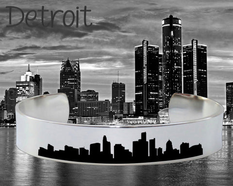 Detroit Skyline Cityscape Jewelry