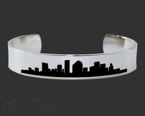 Houston Skyline Cityscape Bracelet