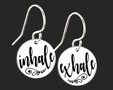 Inhale Exhale Earrings | Korena Loves