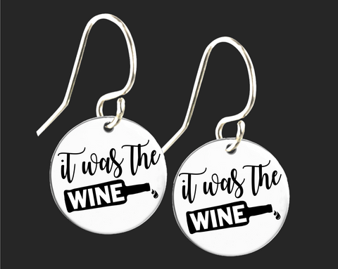 It Was the Wine Earrings | Korena Loves