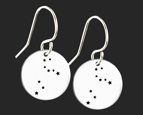 Leo Constellation Zodiac Earrings | Korena Loves
