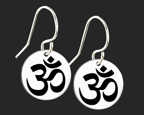 Om Yoga Earrings | Korena Loves