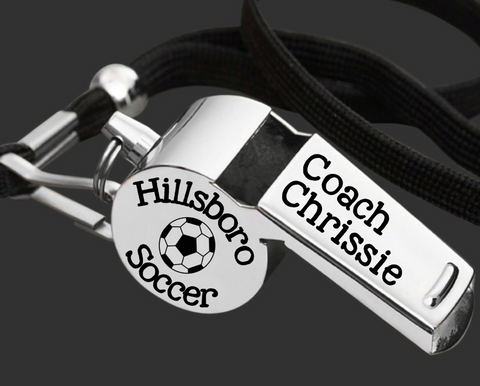 Soccer Coach | Personalized Whistle