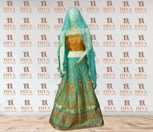 Fancy Lehenga Choli Gotta Dress