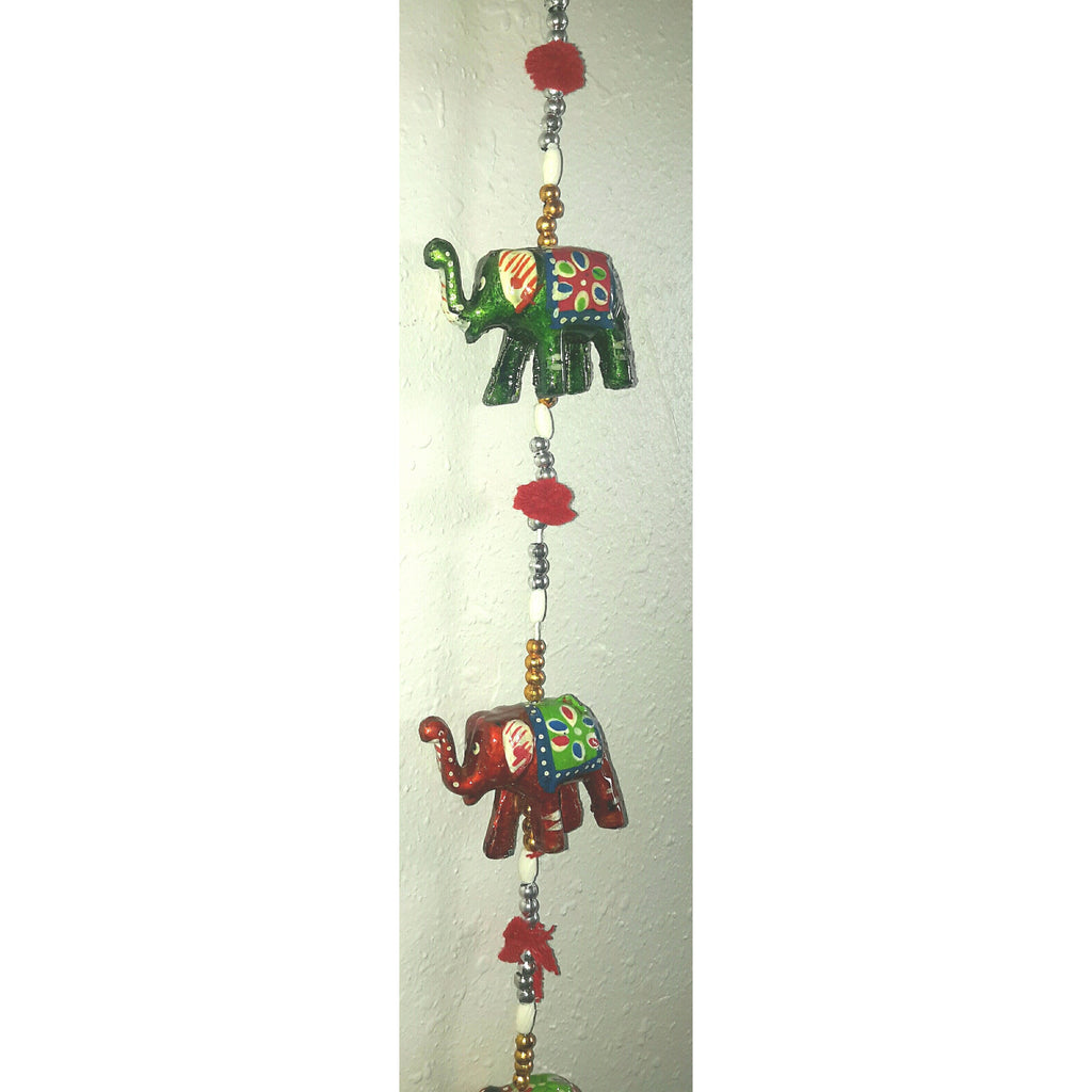 Hanging wall decor elephant -2 piece (1 pair)