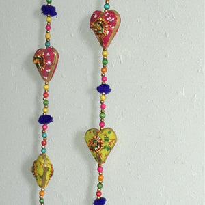 Heart wall decor-2 piece (1 pair)