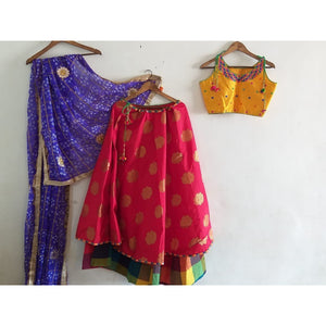 Chaniya Choli for navaratri in Usa