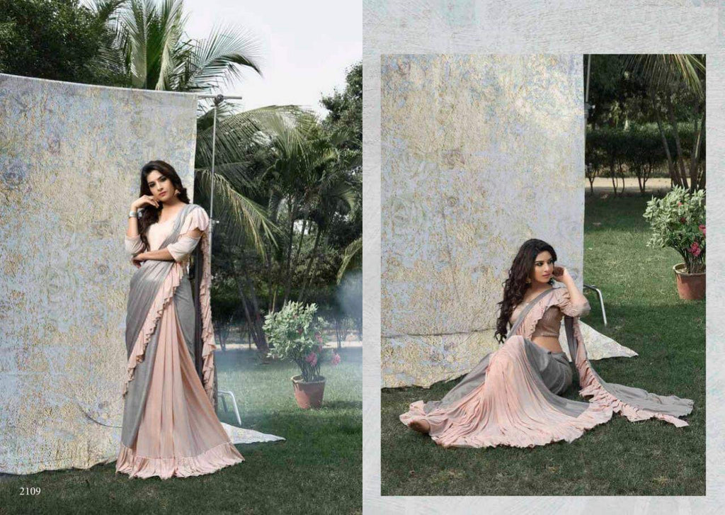 Ready to wear designer saree
