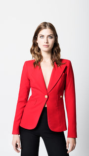 Smythe - Duchess Blazer Red