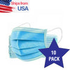 10/20/40 Pcs Disposable Face Mask 3-Ply w/ Earloop for Dust & Personal Health