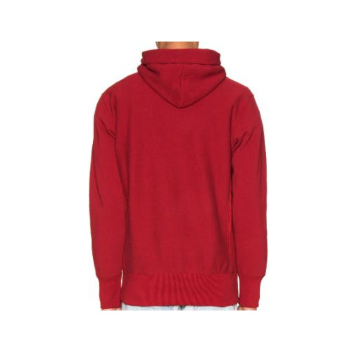 Champion Reverse Weave Small Script Hooded Sweatshirt - Large